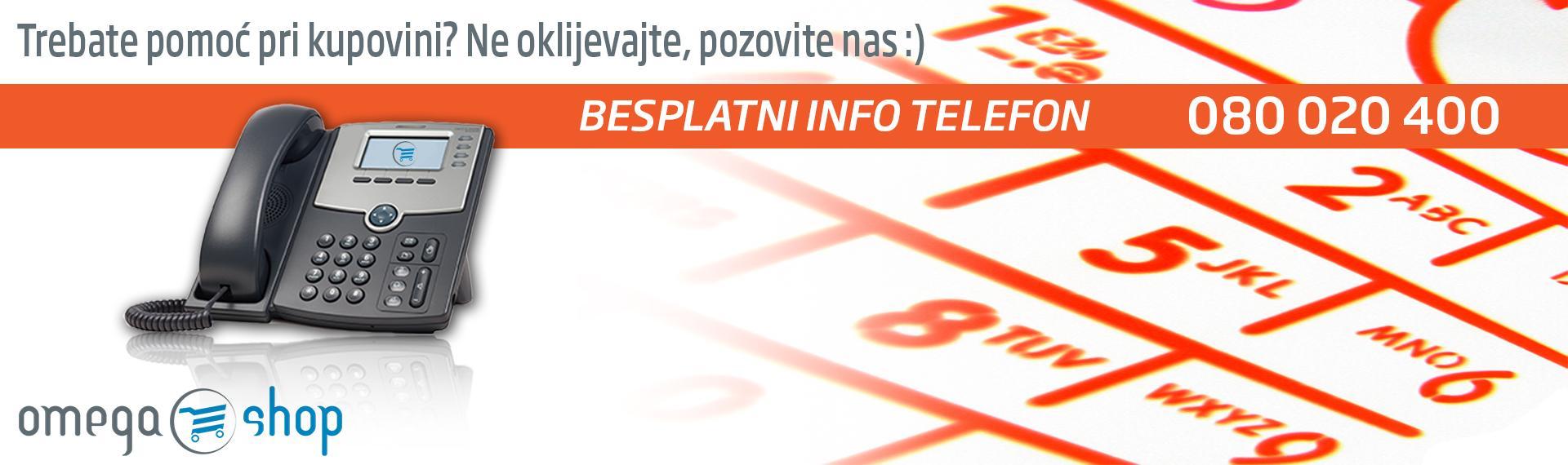 Besplatni info telefon